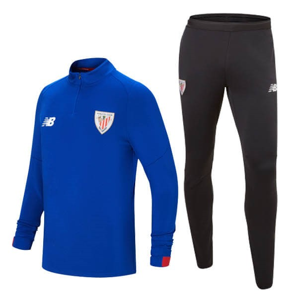 Survetement Foot Pas Cher Athletic Bilbao 2019 2020 Bleu Marine