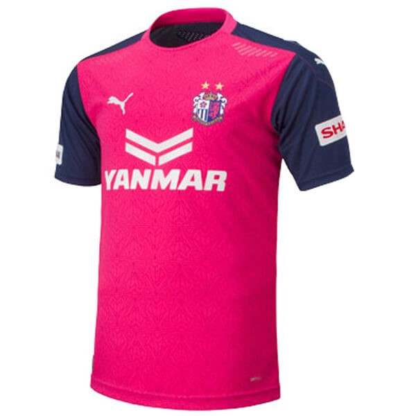 Thailande Maillot Foot Pas Cher Cerezo Osaka Domicile 2020 2021 Rose