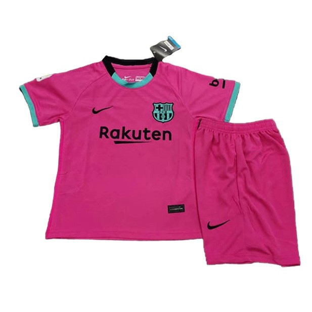 Maillot Foot Pas Cher Barcelona Third Enfant 2020 2021