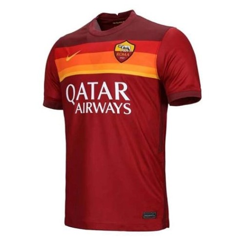 Thailande Maillot Foot Pas Cher AS Roma Domicile 2020 2021