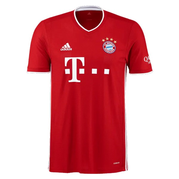 Maillot Foot Pas Cher Bayern Munich Domicile 2020 2021 Rouge
