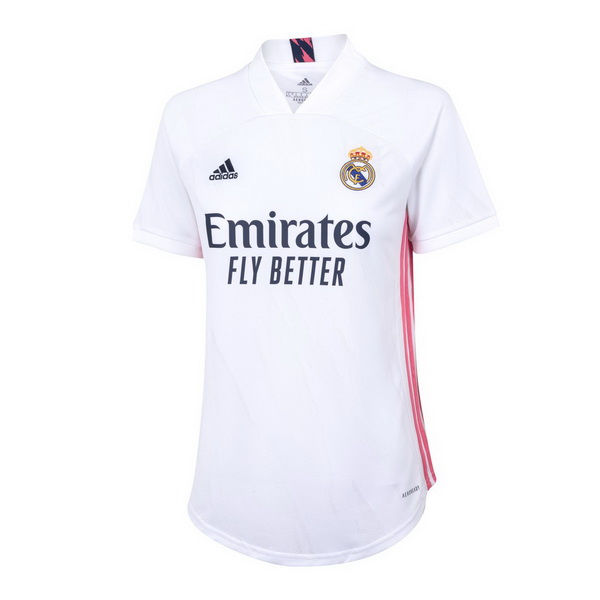 Maillot Foot Pas Cher Real Madrid Domicile Femme 2020 2021 Blanc