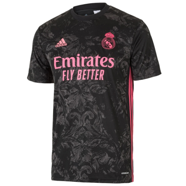 Maillot Foot Pas Cher Real Madrid Third 2020 2021 Noir