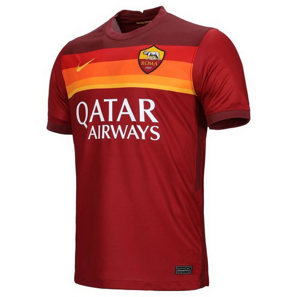Thailande Maillot Foot Pas Cher As Roma Domicile 2020 2021 Rouge