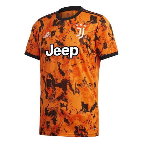 Thailande Maillot Foot Pas Cher Juventus Third 2020 2021 Orange