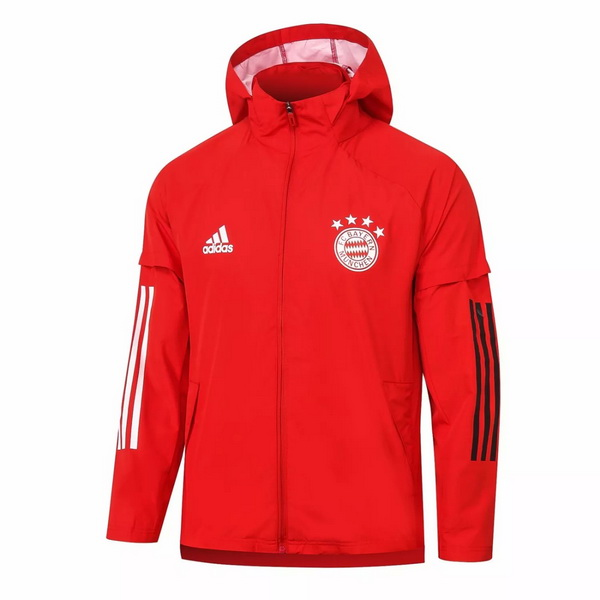 Coupe Vent Bayern Munich 2020 2021 Rouge