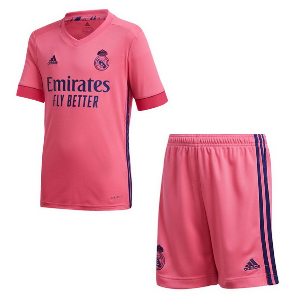 Maillot Foot Pas Cher Real Madrid Exterieur Enfant 2020 2021 Rose