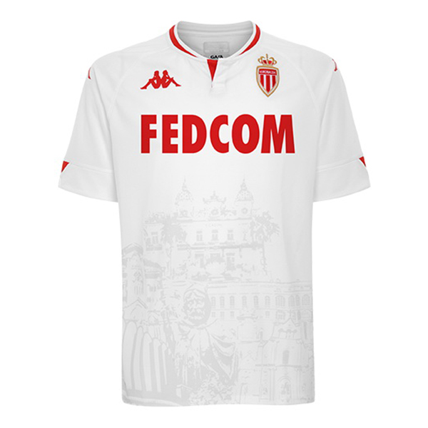 Thailande Maillot Foot Pas Cher AS Monaco Third 2020 2021 Blanc