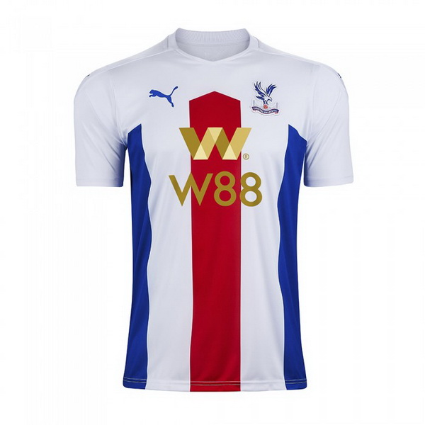Thailande Maillot Foot Pas Cher Crystal Palace Exterieur 2020 2021 Blanc