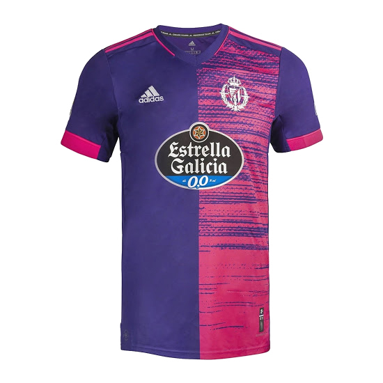 Thailande Maillot Foot Pas Cher Real Valladolid Exterieur 2020 2021 Purpura