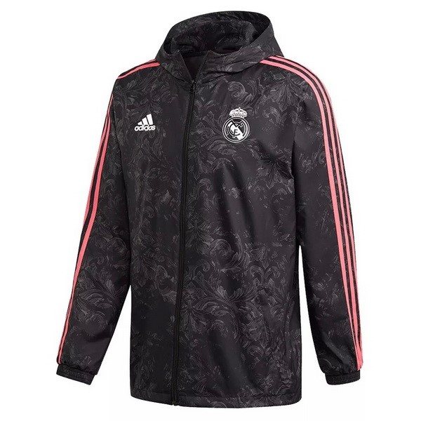 Coupe Vent Real Madrid 2021 2022 Noir Rose