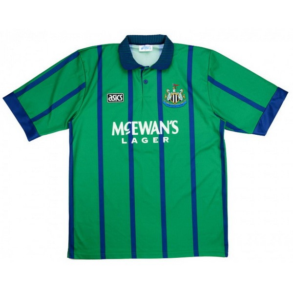 Thailande Maillot Foot Pas Cher Newcastle United Third Retro 1994 1995 Vert