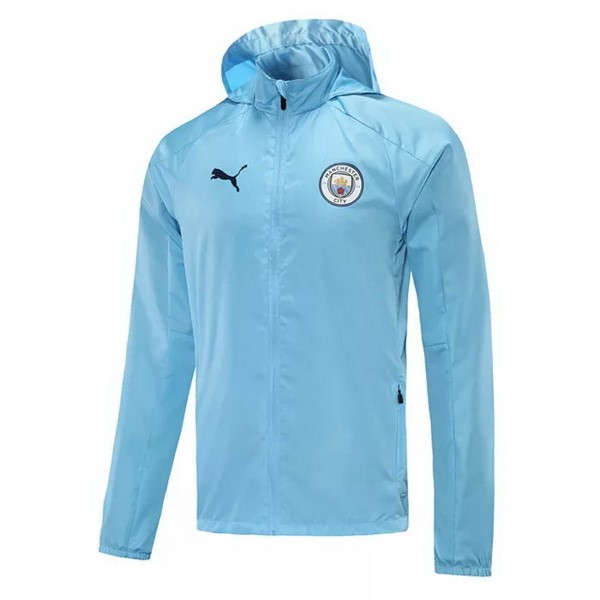Coupe Vent Manchester City 2021 2022 Bleu