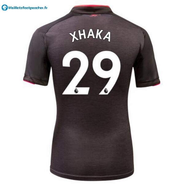 Maillot Foot Pas Cher Arsenal Third Xhaka 2017 2018