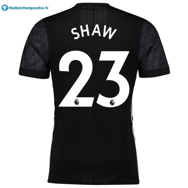 Maillot Foot Pas Cher Manchester United Exterieur Shaw 2017 2018