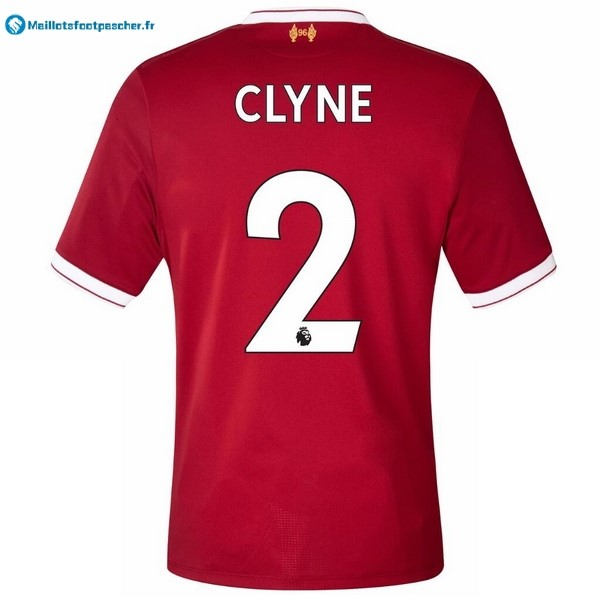 Maillot Foot Pas Cher Liverpool Domicile Clyne 2017 2018