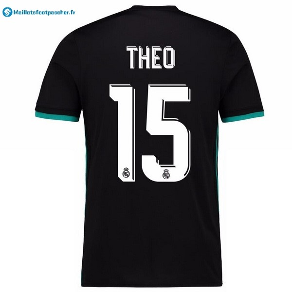 Maillot Foot Pas Cher Real Madrid Exterieur Theo 2017 2018