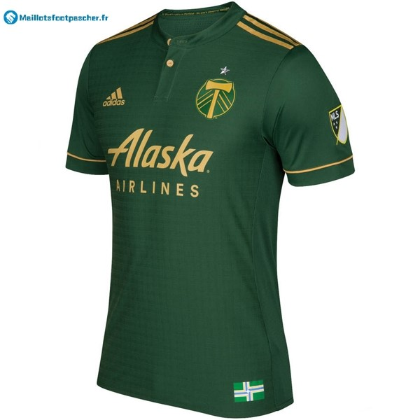 Maillot Foot Pas Cher Portland Timbers Domicile 2017 2018