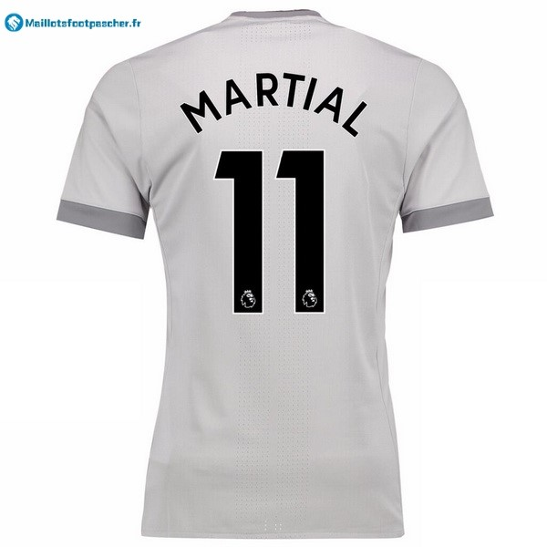Maillot Foot Pas Cher Manchester United Third Martial 2017 2018