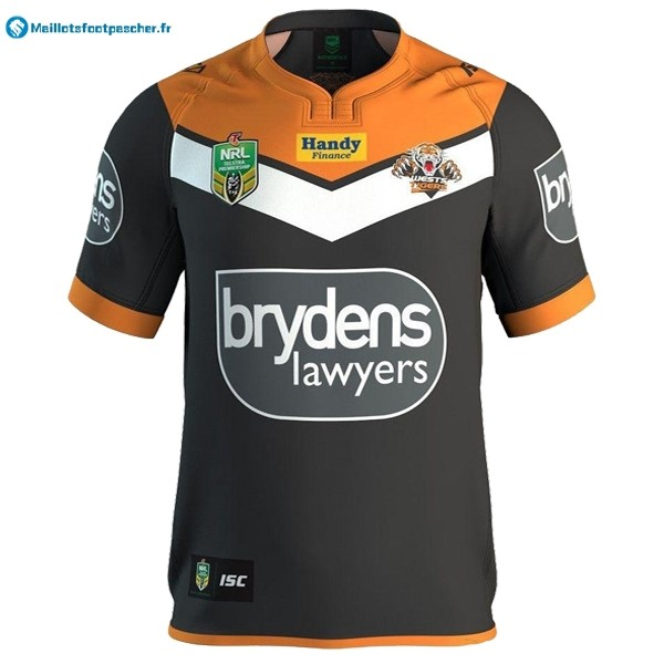 Maillot Rugby Pas Cher Wests Tigers NRL Domicile 2016 2017