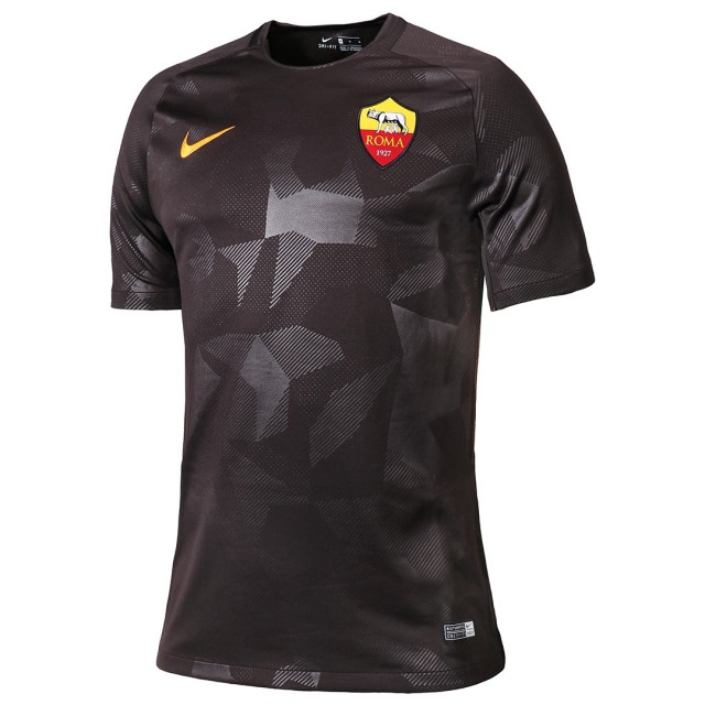 Maillot Foot Pas Cher AS Roma Third 2017 2018