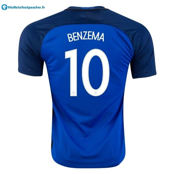 Maillot Foot Pas Cher France Domicile Benzema 2016