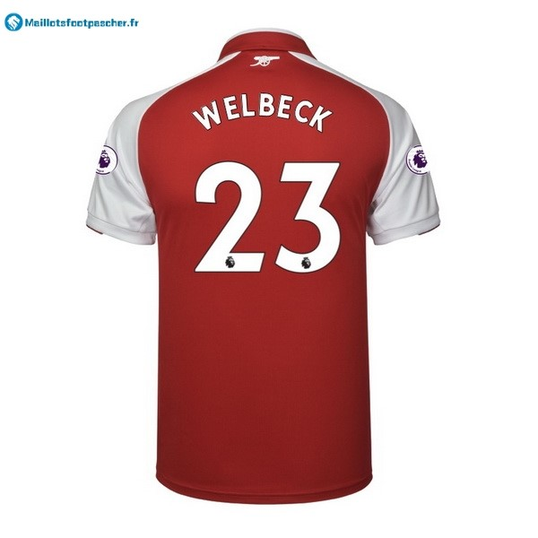 Maillot Foot Pas Cher Arsenal Domicile Welbeck 2017 2018