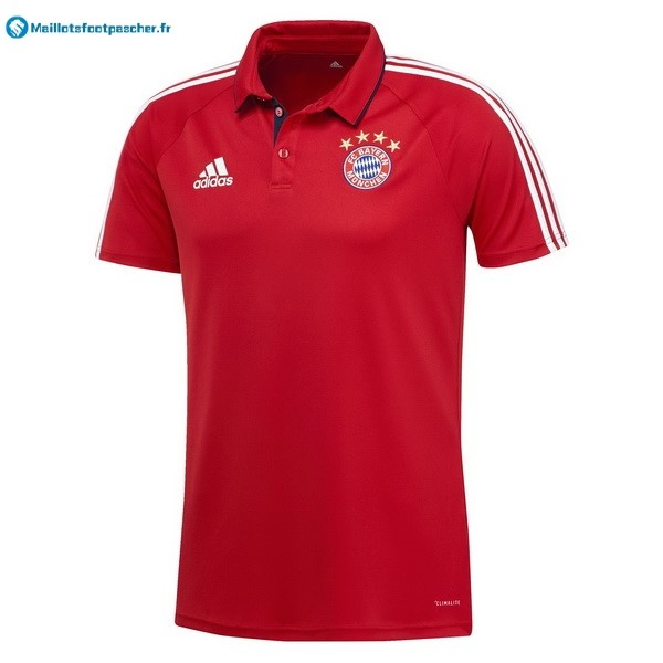 Polo Foot Pas Cher Bayern Munich 2017 2018 Rouge