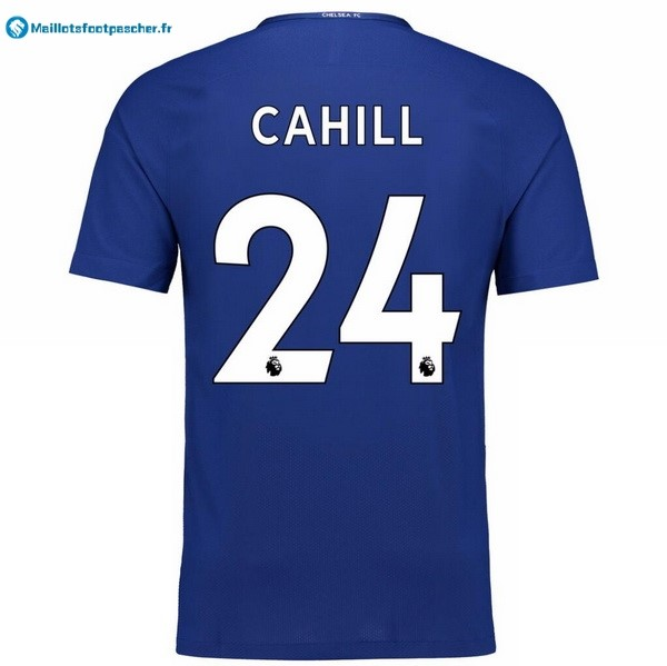 Maillot Foot Pas Cher Chelsea Domicile Cahill 2017 2018