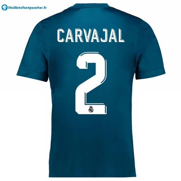 Maillot Foot Pas Cher Real Madrid Third Carvajal 2017 2018