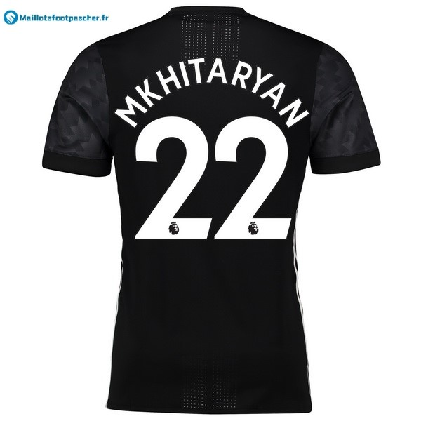 Maillot Foot Pas Cher Manchester United Exterieur Mkhitaryan 2017 2018