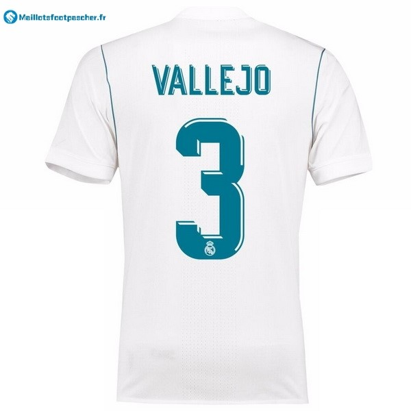 Maillot Foot Pas Cher Real Madrid Domicile Vallejo 2017 2018
