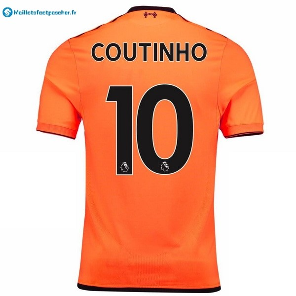 Maillot Foot Pas Cher Liverpool Third Coutinho 2017 2018