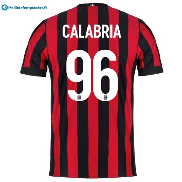 Maillot Foot Pas Cher Milan Domicile Galabria 2017 2018