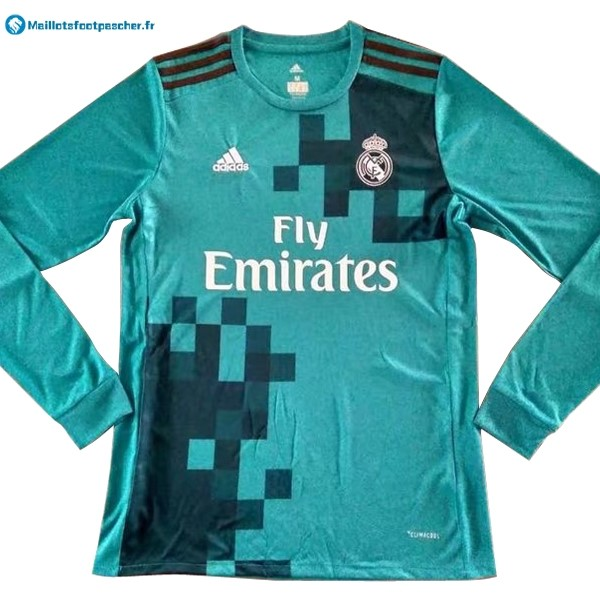 Maillot Foot Pas Cher Real Madrid Third ML 2017 2018