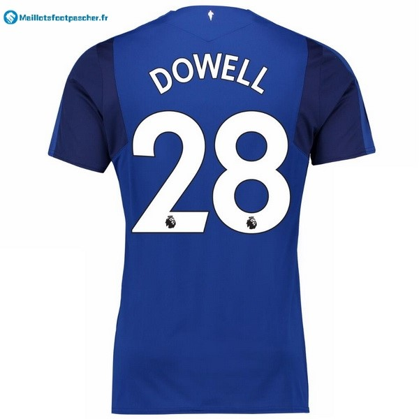 Maillot Foot Pas Cher Everton Domicile Dowell 2017 2018
