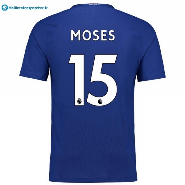 Maillot Foot Pas Cher Chelsea Domicile Moses 2017 2018