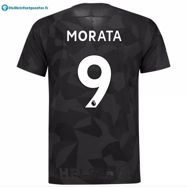 Maillot Foot Pas Cher Chelsea Third Morata 2017 2018