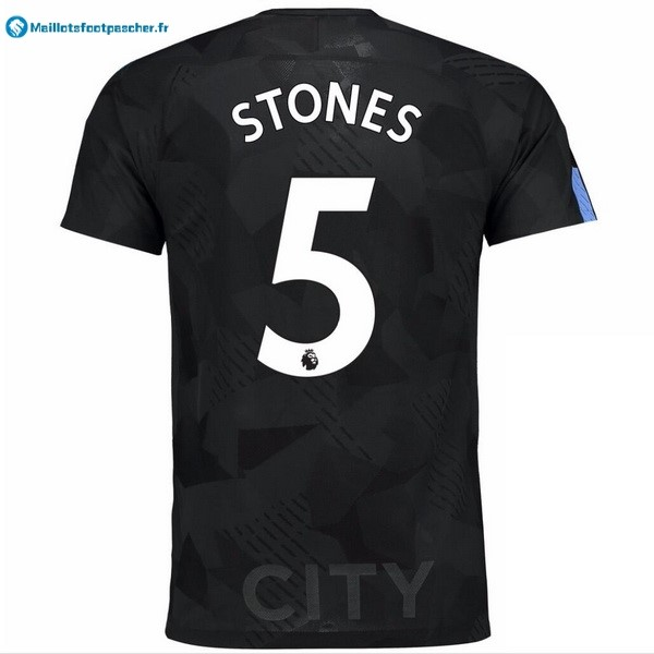 Maillot Foot Pas Cher Manchester City Third Stones 2017 2018