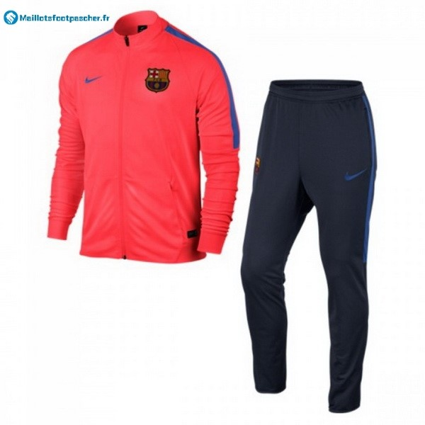 Survetement Foot Pas Cher Barcelona 2017 2018 Orange