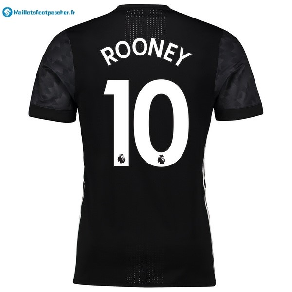 Maillot Foot Pas Cher Manchester United Exterieur Rooney 2017 2018