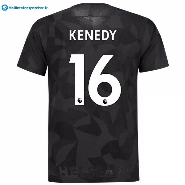 Maillot Foot Pas Cher Chelsea Third Kenedy 2017 2018