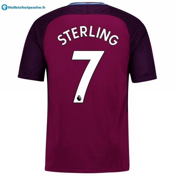 Maillot Foot Pas Cher Manchester City Exterieur Sterling 2017 2018