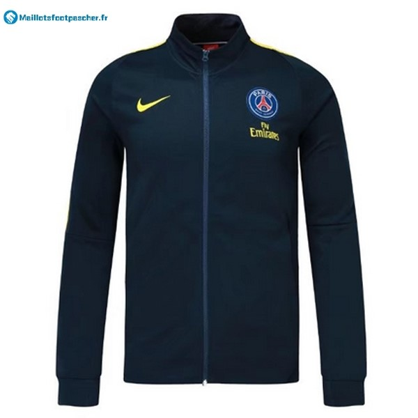 Veste Foot Pas Cher Paris Saint Germain 2017 2018 Bleu Marine