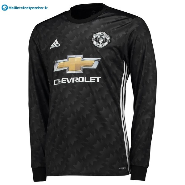 Maillot Foot Pas Cher Manchester United Exterieur ML 2017 2018