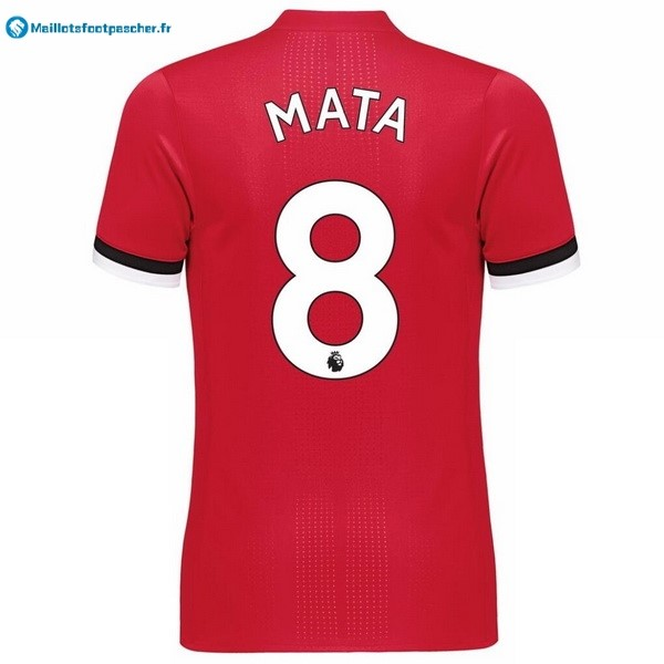 Maillot Foot Pas Cher Manchester United Domicile Mata 2017 2018