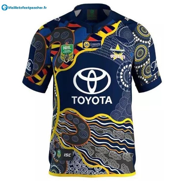 Maillot Rugby Pas Cher North Queensland Cowboys Domicile 2016 2017