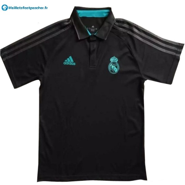 Polo Foot Pas Cher Real Madrid 2017 2018 Noir