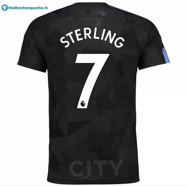Maillot Foot Pas Cher Manchester City Third Sterling 2017 2018
