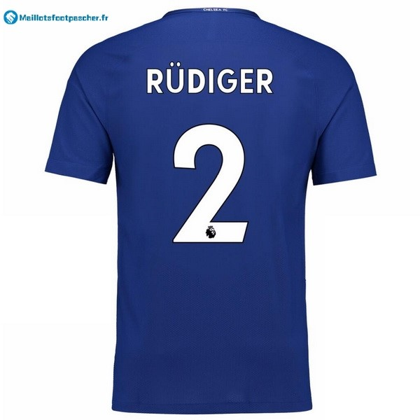 Maillot Foot Pas Cher Chelsea Domicile Rudiger 2017 2018